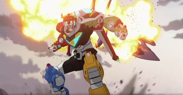 Voltron: Legendary Defender Netflix DreamWorks Animation