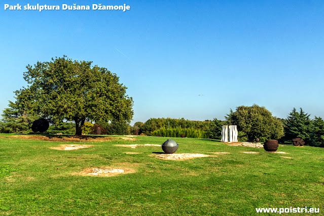 Park skulptura Dušana Džamonje u Vrsaru