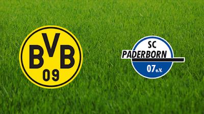 مباراة بوروسيا دورتموند وبادربورن dortmund vs paderborn كورة داي مباشر 2-2-2021 والقنوات الناقلة ضمن كأس ألمانيا