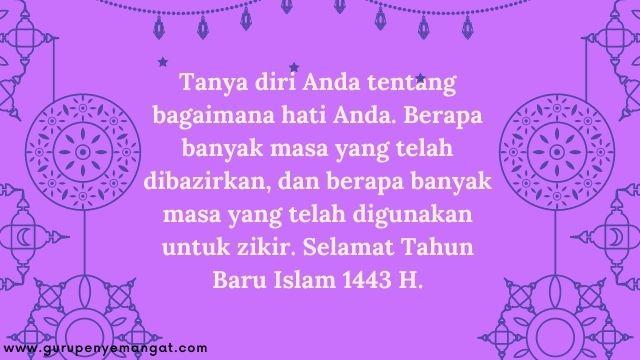 Gambar Ucapan Selamat Tahun Baru Islam 1443 H Melayu 2