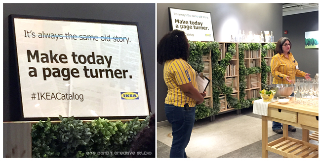 IKEA blogger event, Ikea west chester, #IKEAcatalog, home ideas