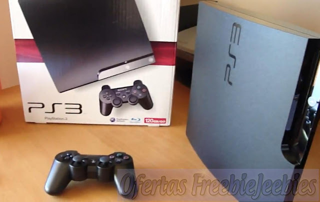 PlayStation 3 Slim freebiejeebies ps free grátis
