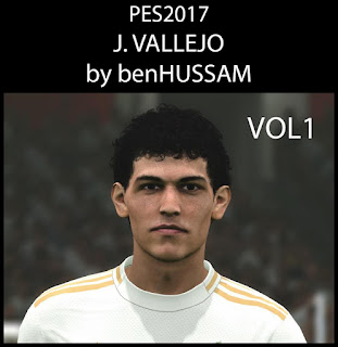 PES 2017 Faces Jesús Vallejo by BenHussam