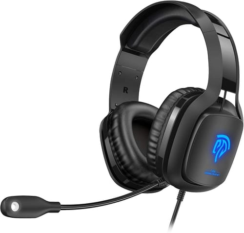 Review HTQ Gaming Headset with Soft Breathing Earmuffs