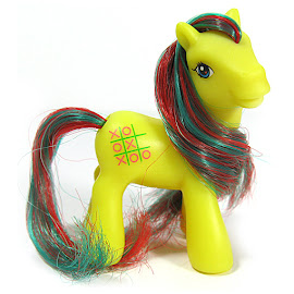 My Little Pony Tic Tac Toe Dolly Mix Series 1 G1 Retro Pony