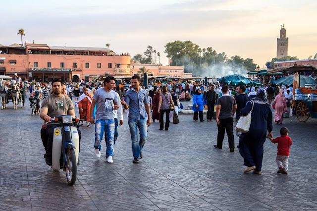 Marrakech piazza jemaa
