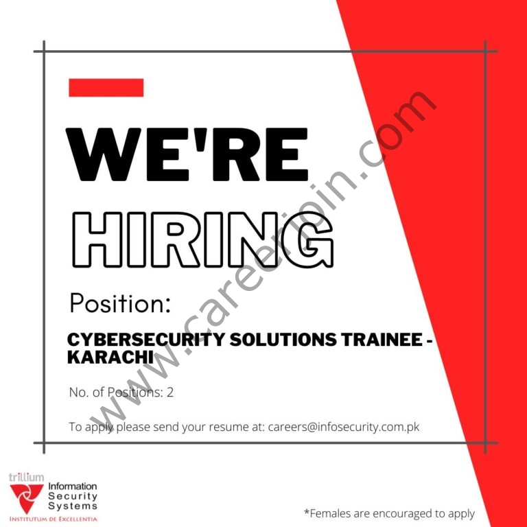 Jobs in Trillium Information Security Systems
