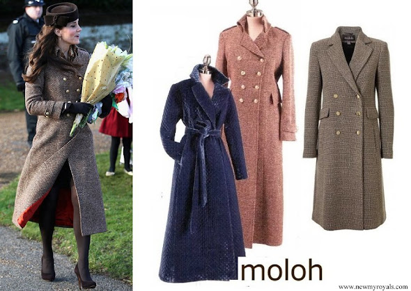 Kate Middleton wore Moloh Turpin Coat