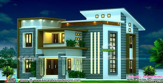 Villa type B rendering