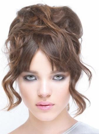 aqu las mejores imgenes de peinados de moda updos para fiestascomo fuente de inspiracin