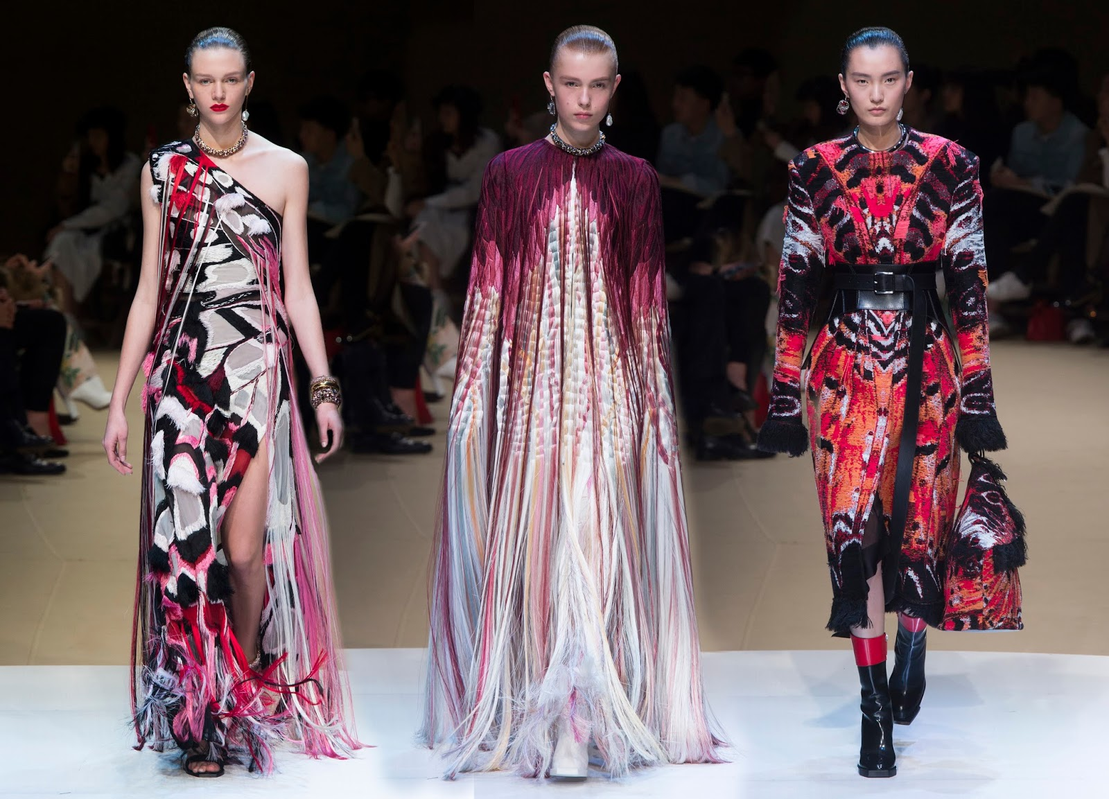 RUNWAY REPORT.....Paris Fashion Week: Alexander McQueen ...