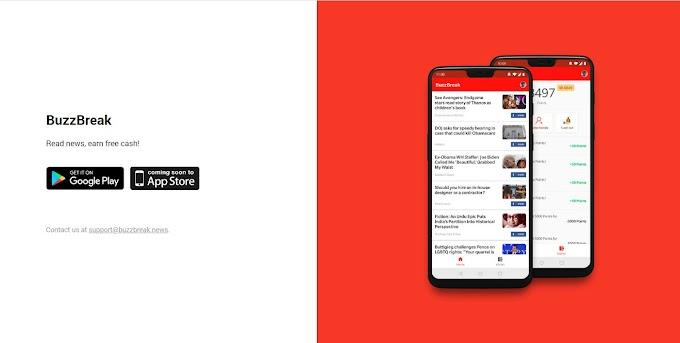 Kiếm tiền cực dễ với app BuzzBreak đọc báo nhận thưởng