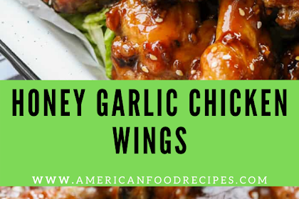 HONEY GARLIC CHICKEN WINGS RECIPE (OVEN BAKED)