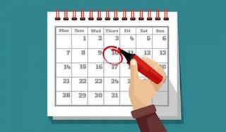 सरकारी कर्मियों के लिए छुट्टियों का कैलेंडर जारी,नये साल में 36 छुट्टियां, गांधी जयंती समेत 8 अवकाश रविवार को