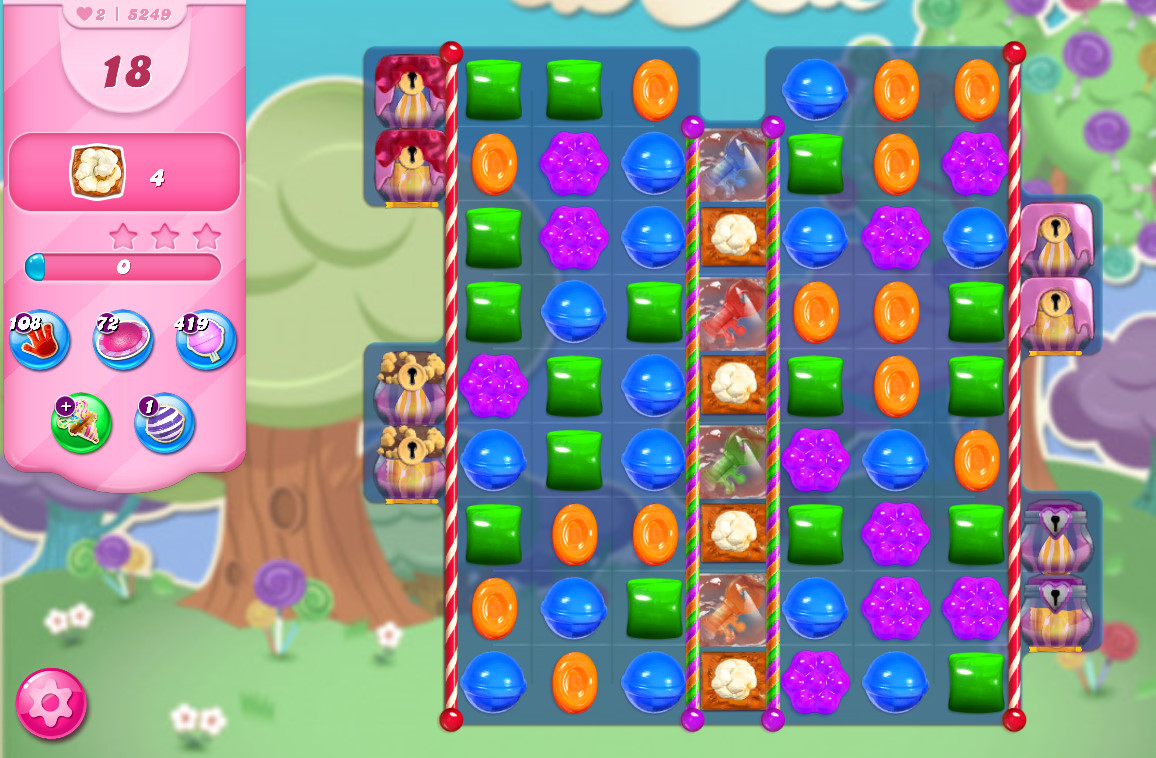 Candy Crush Saga level 5249