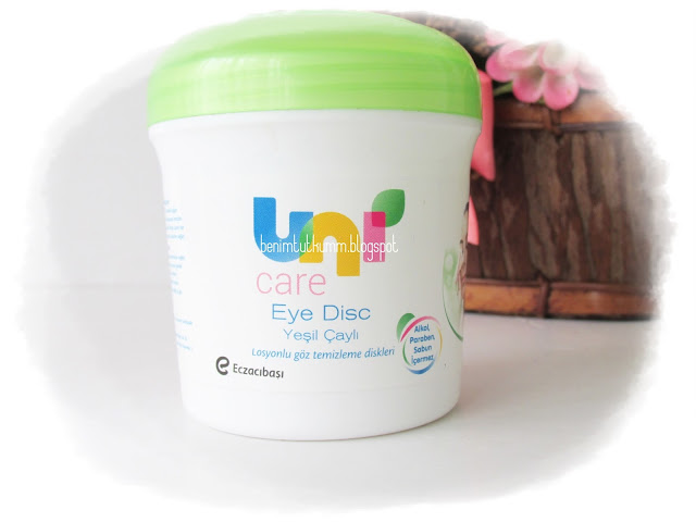 Uni Eye Disc Losyonlu Göz Makyajı Temizleme Pedi