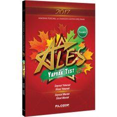 Filozof Yayıncılık ALES Tırtıklı Yaprak Test (2017)