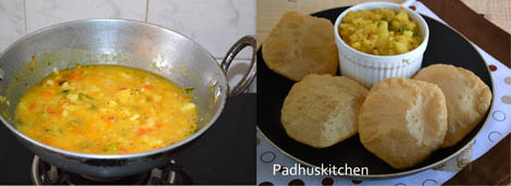 How to make Poori masala