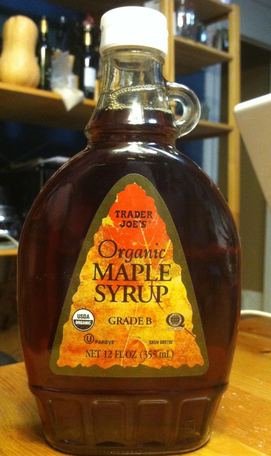 b7b4ca41e10 What s Good at Trader Joe s   Trader Joe s Organic Grade B Maple Syrup
