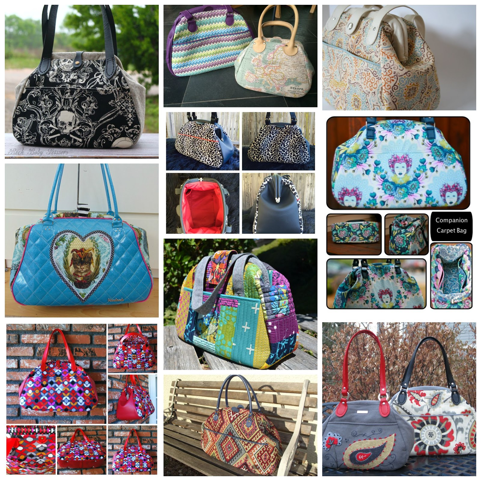 Emmaline Bags  Sewing Patterns and Purse Supplies  Bag of the Month ... ee3b85ff3749b