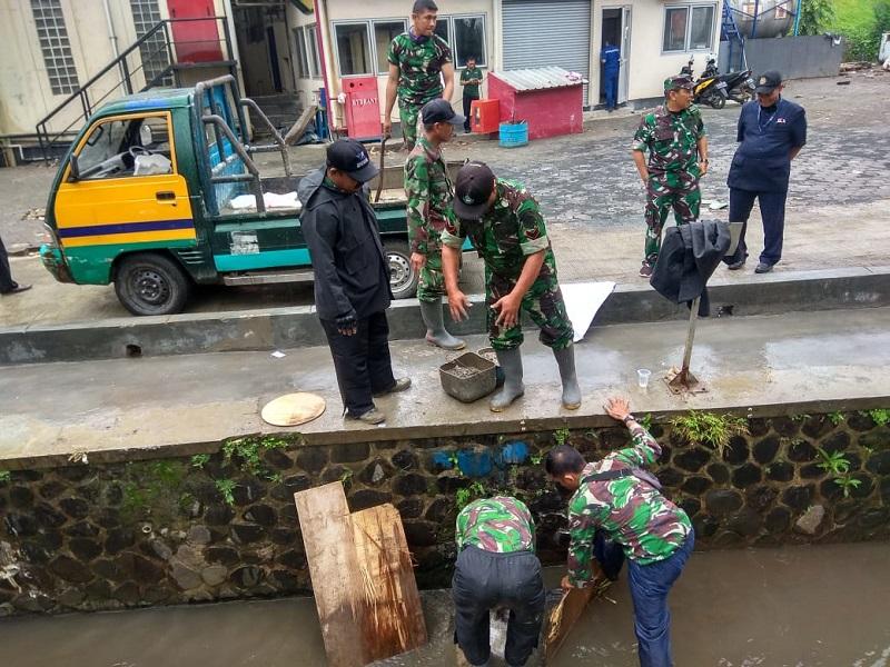 Kolonel Inf Amir Mahmud : Satgas Citarum Harum Sektor 9 Akan Perang Terhadap Pencemaran Lingkun