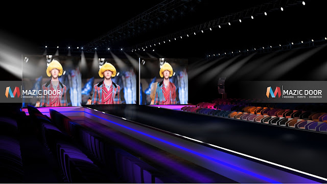 MazicDoor Fashion Show Stage Design 2