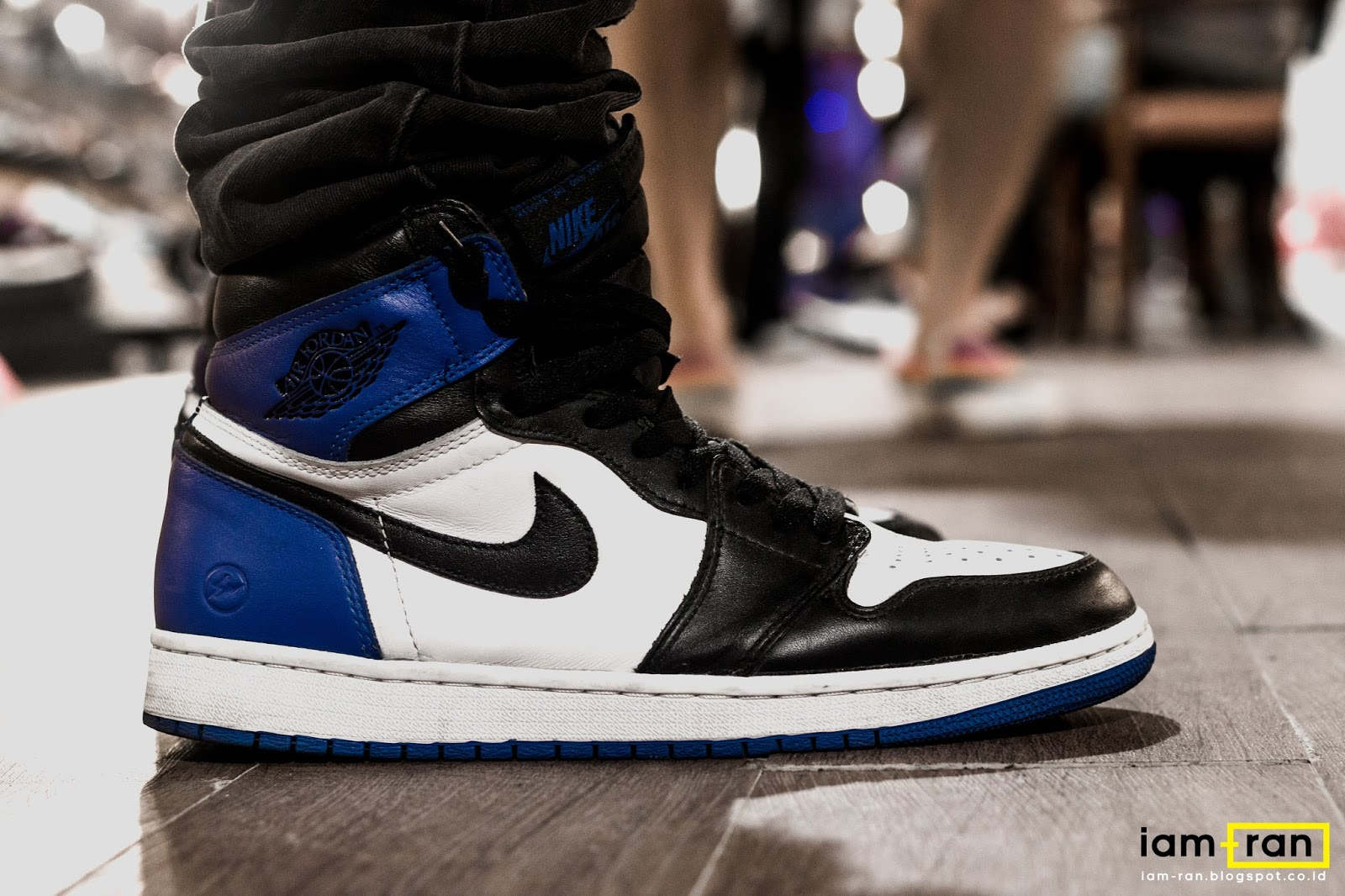 6e5c25cba22 IAM-RAN: ON FEET : In.Dhika - Nike Air Jordan 1 X Fragment