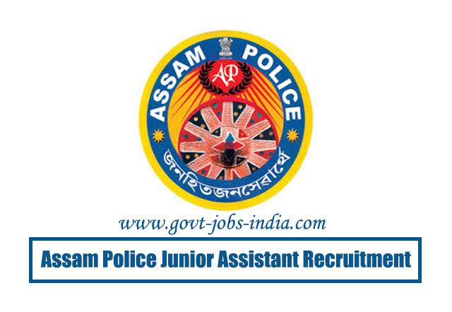 Assam Police Recruitment 2020 – 07 Junior Assistant & Stenographer Sarkari Job Vacancy – Last Date 06 July 2020
