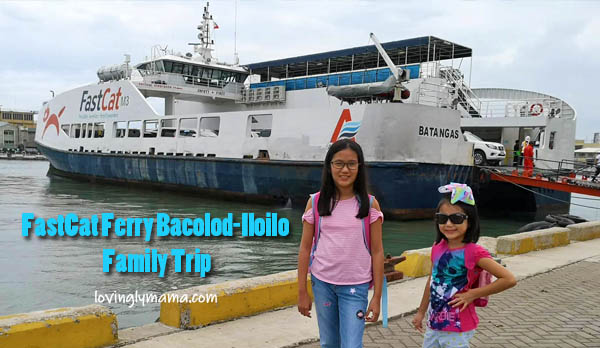 FastCat Ferry Bacolod-Iloilo - family trip - family travel - RORO- girls - Philippines - daughters - travelers - homeschooling - homeschooling in Bacolod- educational trip on board - business class