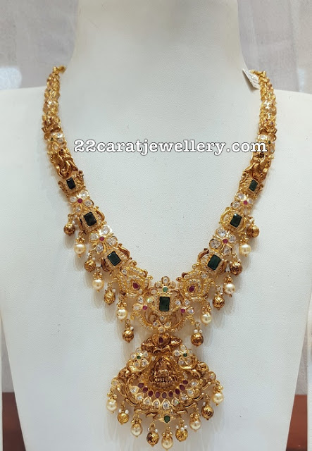 Latest Uncut Diamond Set by Sri Mahalaxmi Jewellers