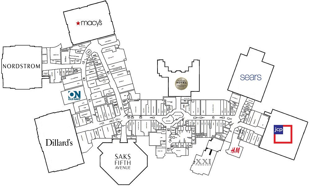 Image Result For Carolina Place Mall Directory Map