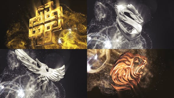 Particle Glossy Logo[Videohive][After Effects][27053454]