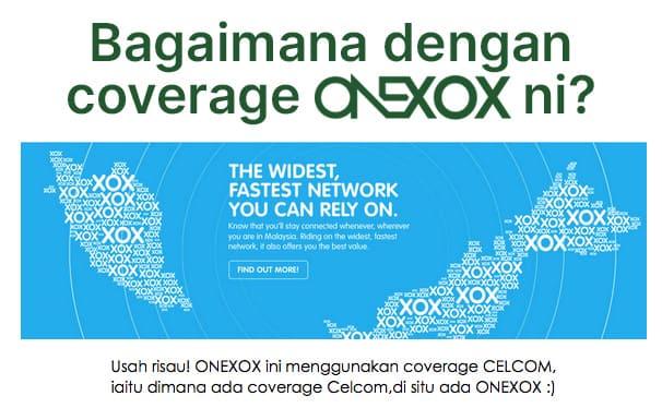 Semak Coverage ONEXOX