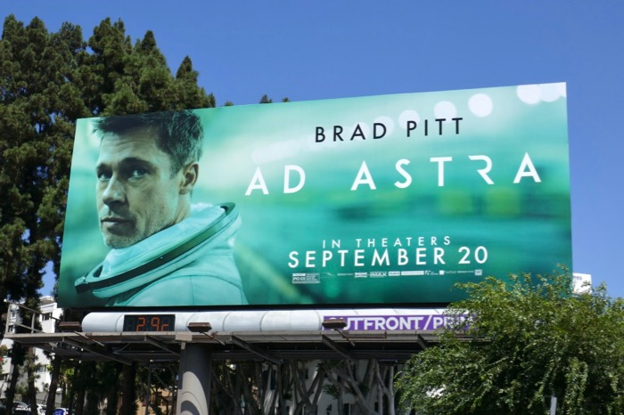 Ad Astra movie billboard