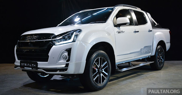 New Isuzu D-MAX Stealth Edition  wheels
