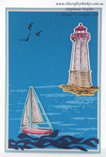 #thecraftythinker  #stampinup  #birch  #sailinghome  #masculinecard  #cardmaking , Birch, Sailing Home, Masculine Card, Stampin' Up Australia Demonstrator, Stephanie Fischer, Sydney NSW