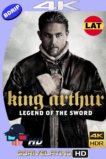 El Rey Arturo: La Leyenda de la Espada (2017) BDRip 4K HDR Latino-Ingles MKV