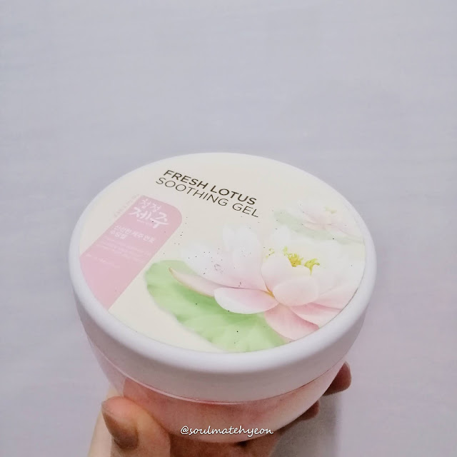 Review; The Face Shop Fresh Lotus Soothing Gel