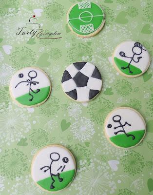 Ciasteczka piłka nożna