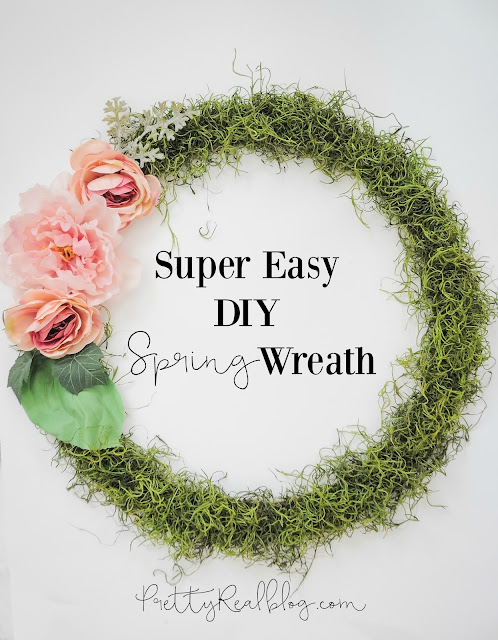 Easy DIY Spring Wreath