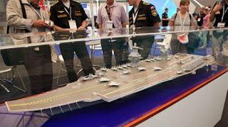 Desain Kapal Induk Rusia
