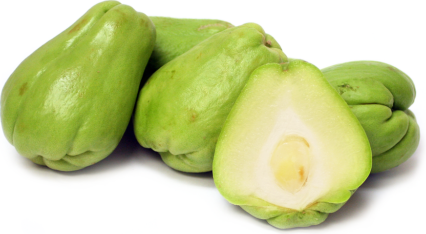 International food blog: LATIN: Chayote Squash information, recipe and changes to recipe and VIDEO
