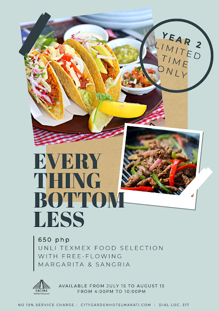 Encima's Everything Bottomless Promo - City Garden Hotel