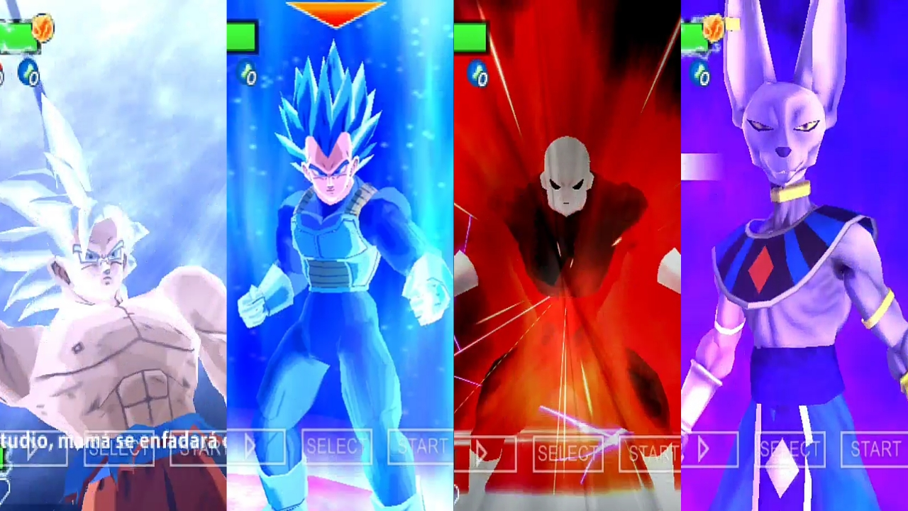 Dragon Ball Super DBZ TTT MOD