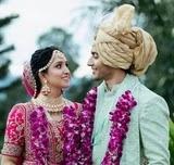Akshay Kharodia with her wife