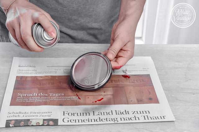 Hübsches Bonbonglas aus Marmeladenglas selber machen