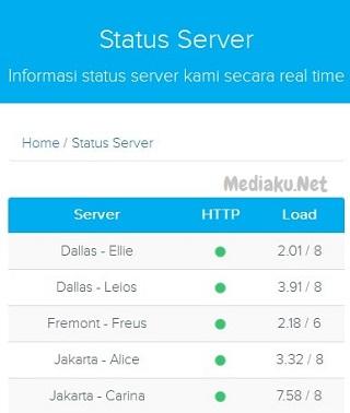 Cara Cek Status Server Hosting DomaiNesia