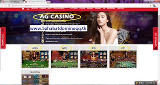 QQKLIK SITUS GAMES LIVE CASINO ONLINE MOBILE TERPERCAYA INDONESIA AG CASINO