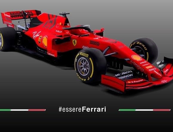 Mobil baru tim Ferrari, SF90, untuk F1 2019 Ferrari