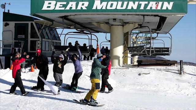 Esquiar com criança em Big Bear Mountain